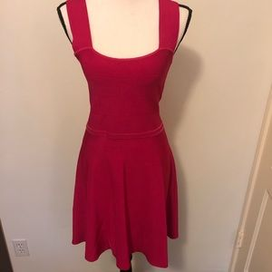 Hot Pink Purple Zara Dress Knit Summer Bandage